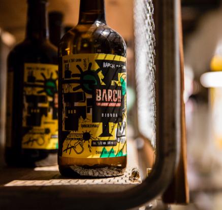 Alcune bottiglie di birra Barch
