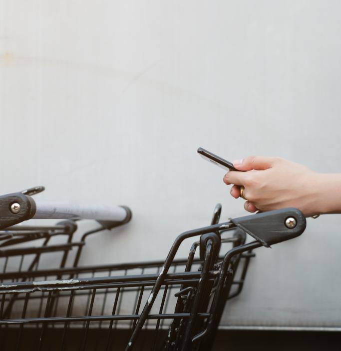 Immagine di un carrello del supermercato