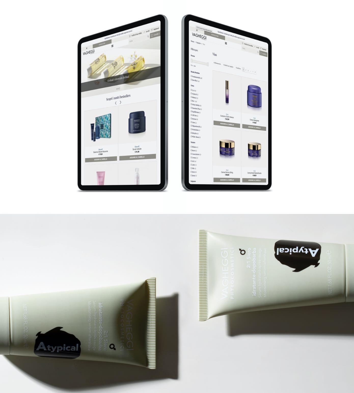 Vagheggi website mobile